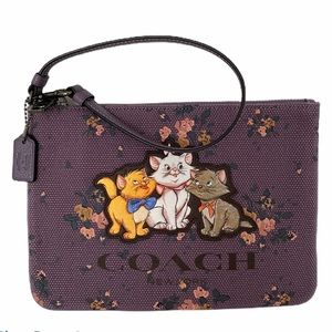 Coach Disney Aristocats Gallery Pouch